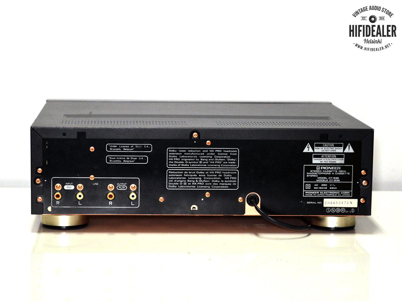 pioneer-ct-939-2