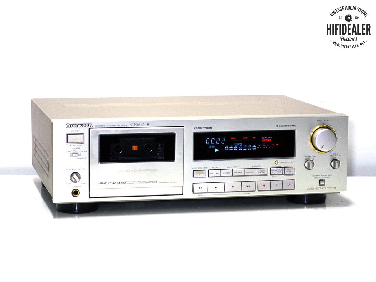 pioneer-ct-s610