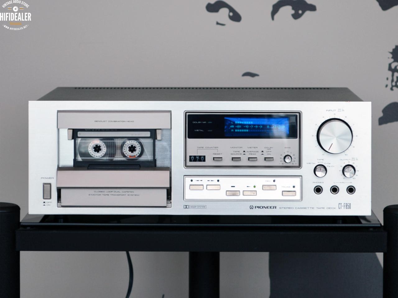 pioneer-ct-f850